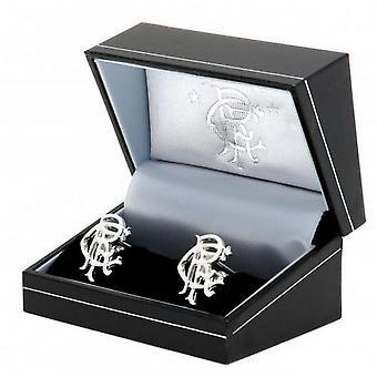 Rangers FC Sterling Silver Cufflinks