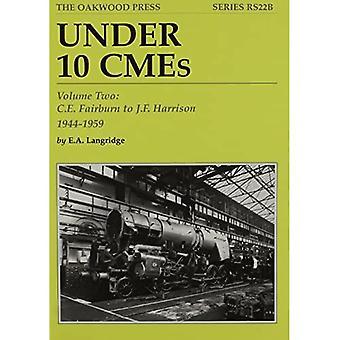 Under 10 CMEs: C.E. Fairburn to J.F. Harrison, 1944-1959 v. 2
