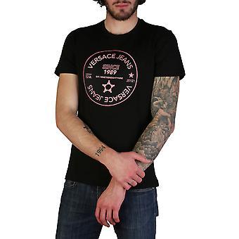 Versace Jeans Original Men Spring/Summer T-Shirt - Black Color 35017