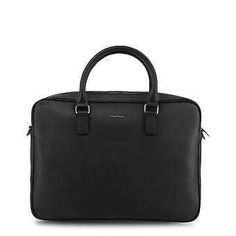 Armani Jeans Original Men All Year Briefcase - Black Color 34403