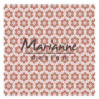 ماريان تصميم النقش مجلد 3D - نجمة يابانية DF3445 14,1x14,1cm