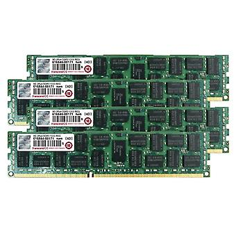 Transcend TS32GJMA533Y JetMemory - 32 GB DDR3-RAM memory kit (4 x 8 GB, 1333 MHz, CL9) para Apple Mac Pro