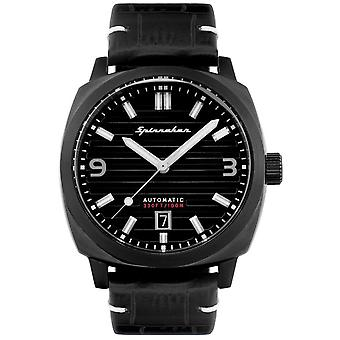 Spinnaker SP-5073-04 Gent's Hull All Black Wristwatch