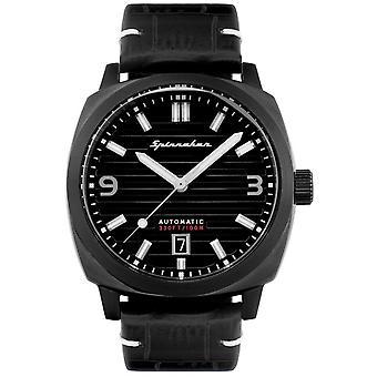 Spinnaker SP-5073-04 Gent's Hull All Black Armbandsur