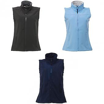 Regatta Womens/Ladies Flux Softshell Bodywarmer / Sleeveless Jacket (Water Repellent & Wind Resistant)