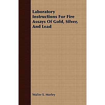 Laboratory Instructions For Fire Assays Of Gold Silver And Lead by Morley & Walter S.