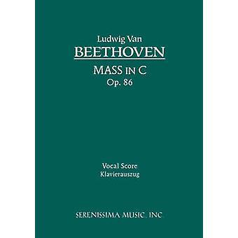 Mass in C Op.86 Vocal Score by Beethoven & Ludwig Van