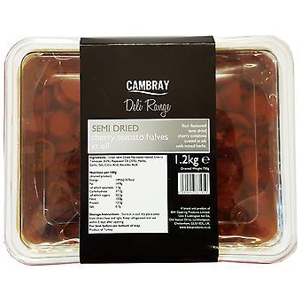 Cambray Semi Dried Cherry Tomato Halves in Oil