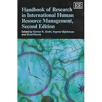 Handbook of Research in International Human Resource Management (2nd