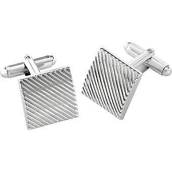Duncan Walton Canton Essential Cufflinks - Silver
