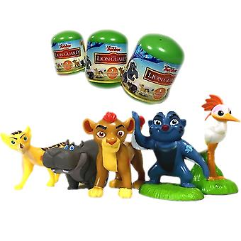5-Pack Disney The Lion Guard Lejonvakten Figurer 5-6cm