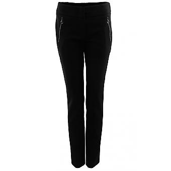 Bianca Black Slim Fit Trousers