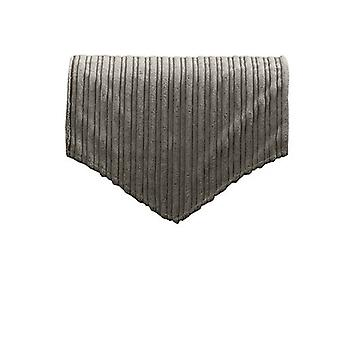 Changing Sofas Charcoal Jumbo Cord Back Seat Cover for Chair, Sofa, or Armchair