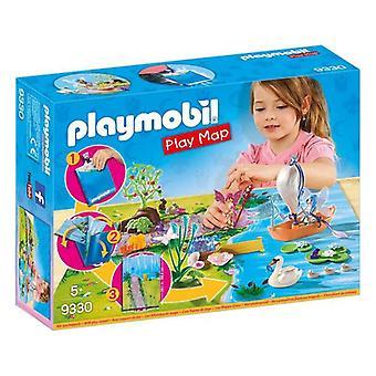 Playset Fairies Play Map Playmobil 9330 (29 pcs)