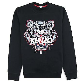 Кензо Тигр Sweatshirt Черный / красный