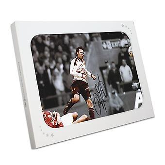 Ryan Giggs ondertekend Manchester United Mono Foto: FA Cup Halve Finale Wonder Goal. Geschenkdoos
