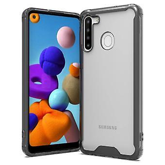 Samsung Galaxy A21 Shell TPU Noir / Transparent