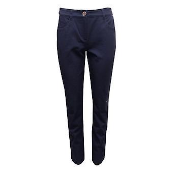 ROBELL Robell Navy Trousers Sonja 51420 5469 69