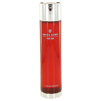 Swiss Army Eau De Toilette Spray (Tester) Par Victorinox 3.4 oz Eau De Toilette Spray