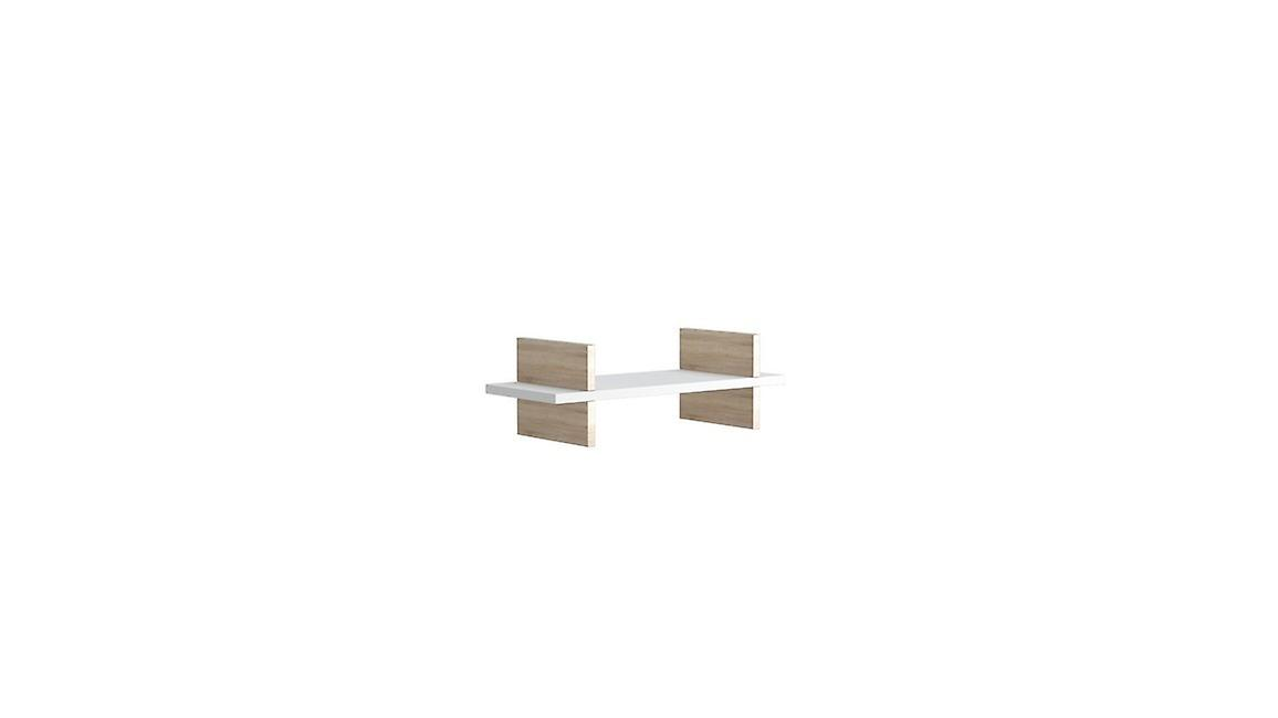 Mensola Norma Color Bianco, Sonoma in Truciolare Melaminico 50x20x15 cm