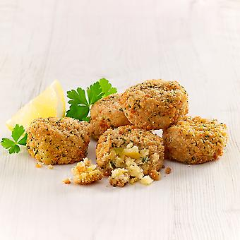 Innovate Frozen Mini Smoked Haddock Fish Cakes