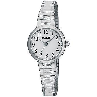 Lorus RG239NX-9 Silver Tone Expandable Bracelet Wristwatch