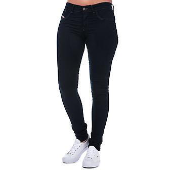 Women's Diesel Livier Super Slim Jegging Jeans in Purple