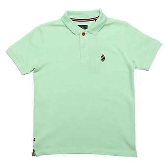 Boy's Luke 1977 Junior Wiliams Polo Shirt in Green