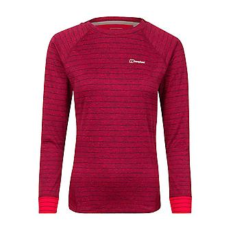 Berghaus Thermal Tech Womens Long Sleeve Crew Sweatshirt Jumper Pink