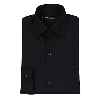 Pageboys lange mouw Black Shirt