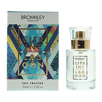 Bronnley Citrine Lagoon Eau Fraiche 30ml Spray For Her