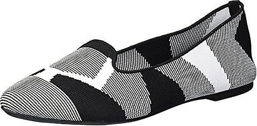 Skechers Women&s Cleo-Sherlock-Engineered Knit Loafer Skimmer Ballet Flat fa6Y1