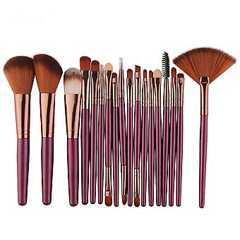 Makeup Brushes Tool Set - Cosmetic Powder, Eye Shadow, Foundation, Blush,