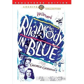 Rhapsodie en bleu (Remastered) [DVD] USA import