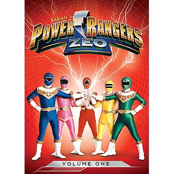 Power Rangers - Power Rangers Zeo Vol. 1 [DVD] USA importar