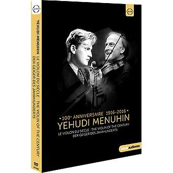 Yehudi Menuhin - violín de la importación de los E.e.u.u. del siglo [DVD]