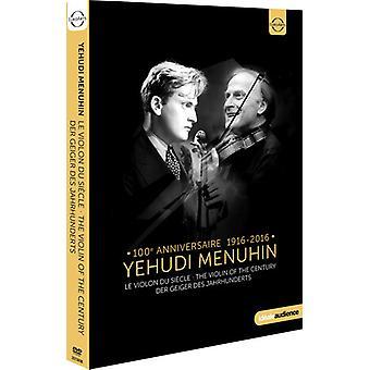 Yehudi Menuhin - Violin of the Century [DVD] USA import