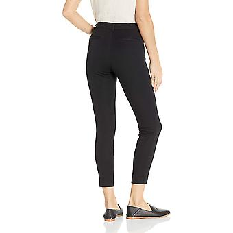 Essentials Women's Skinny Ankle Pant, Black, 14 Short, Black, Size 14.0