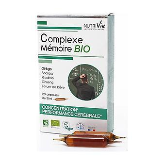 Ampoules - BIO Memory Complex 20 units of 15ml