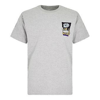 Weird Fish Men's Battered Artist Short Sleeve T-Shirt Grey
