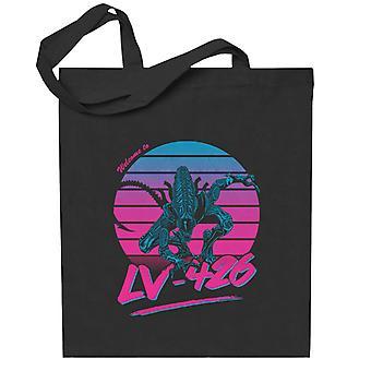 Aliens Tervetuloa LV 426 Totebag