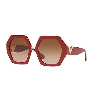 Valentino VA4053 511913 Röda/ Gradient Bruna solglasögon