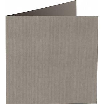 Papicolor 6X Double Card 132X132mm Mouse-Grey