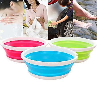 Simple Life Portable Folding Bucket - Camping, Fishing, Car Washing Tool,