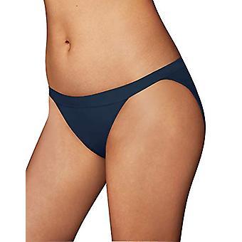 Maidenform Women's One Fab Fit String Bikini, Navy, 5