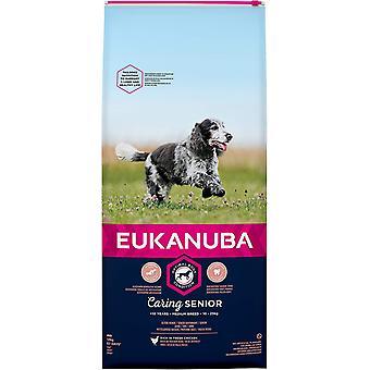 Eukanuba Pflege Senior Medium Breed Huhn - 12kg