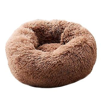 Super Soft Round, Washable Basket- Dog Bed
