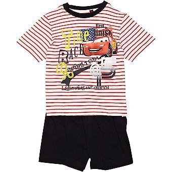 Jongens Disney Carsning McQueen Shortie Pyjamas ME2097