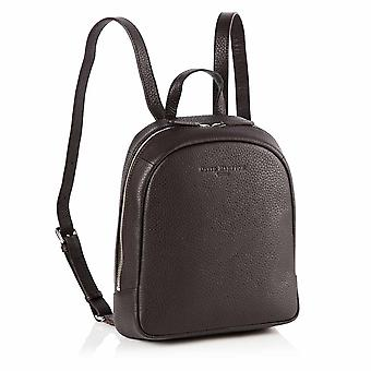 Poppy Mini Leather Backpack in Cocoa Brown Richmond Chrome Free Leather