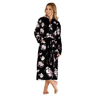 Slenderella HC66313 Women's Floral Dressing Gown